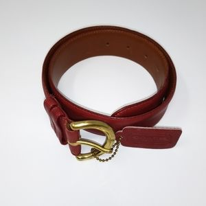 Women's Coach Belt